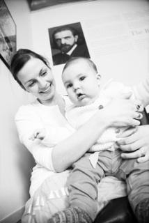 Chiropraktik für das Neugeborene - natürliche Geburt